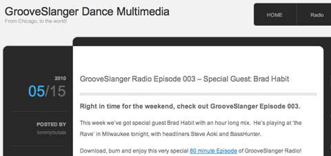 GrooveSlanger Screengrab